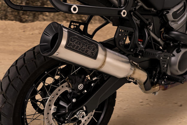 210923 Vance & Hines Enters ADV Motorcycle Segment With Exhaust for Harley-Davidson Pan America (2)