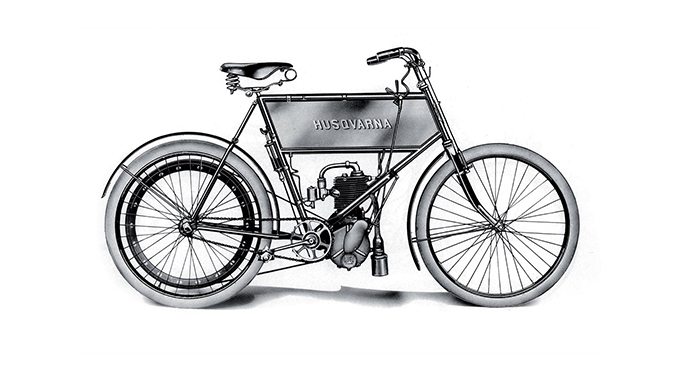 210927 GOOD OLD TIMES BLOG – THE FIRST MOTORISED BIKE (678)