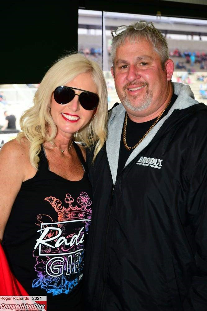 """210929 The Magic 8 race is part of the four-day No Mercy 12 drag racing event produced by Donald """"Duck"""" Long and his wife Stephanie Long"""