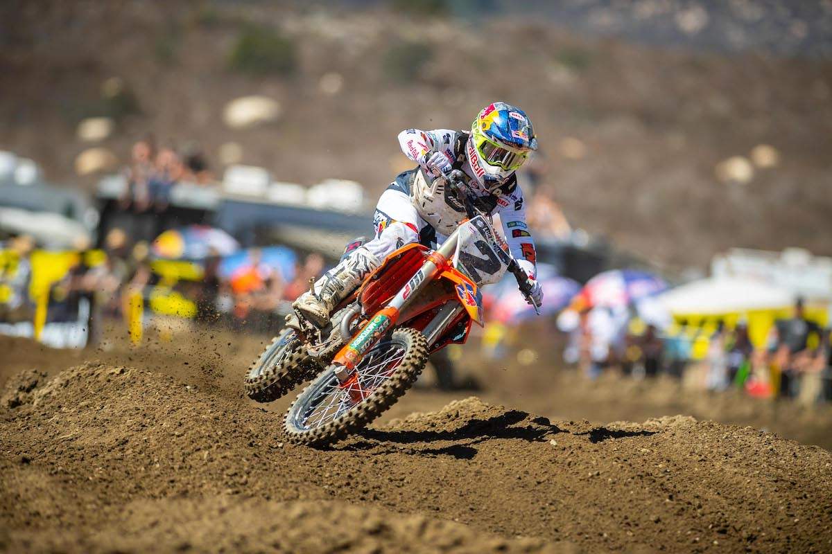 Cooper Webb finished third overall for the second straight week
