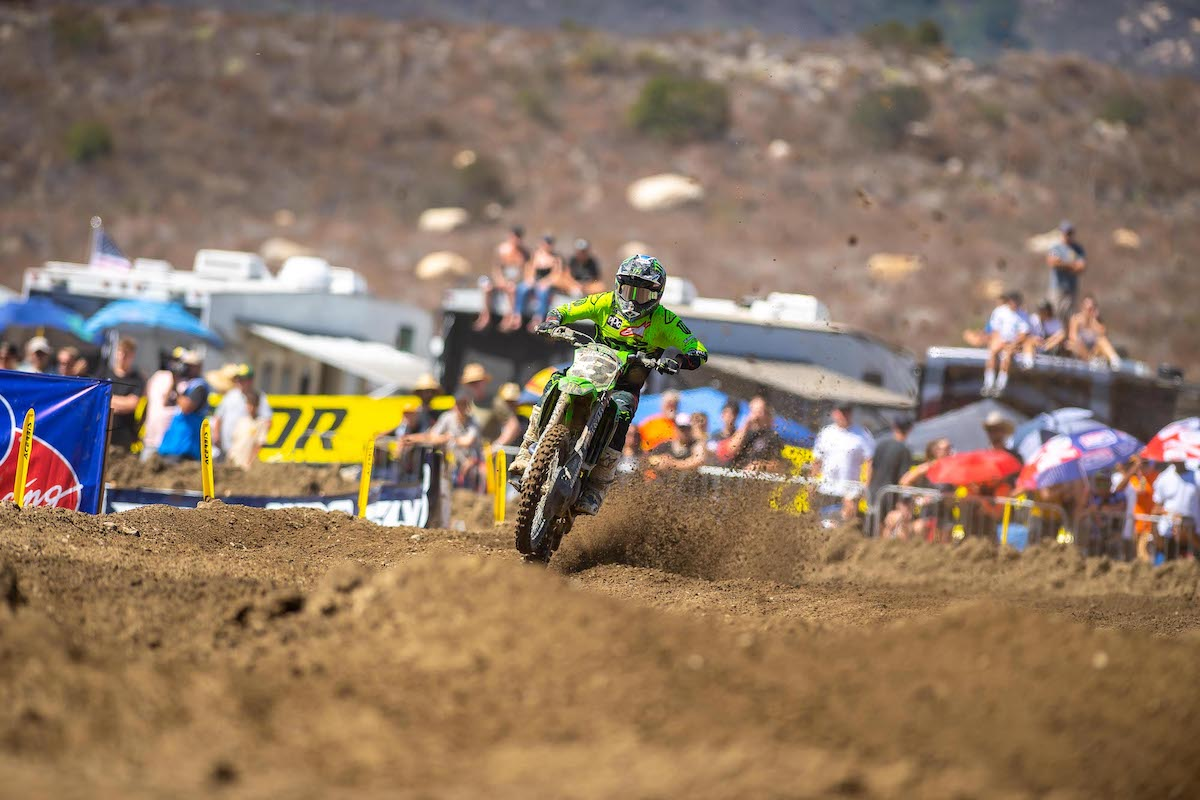 Eli Tomac now has back-to-back 450 Class victories