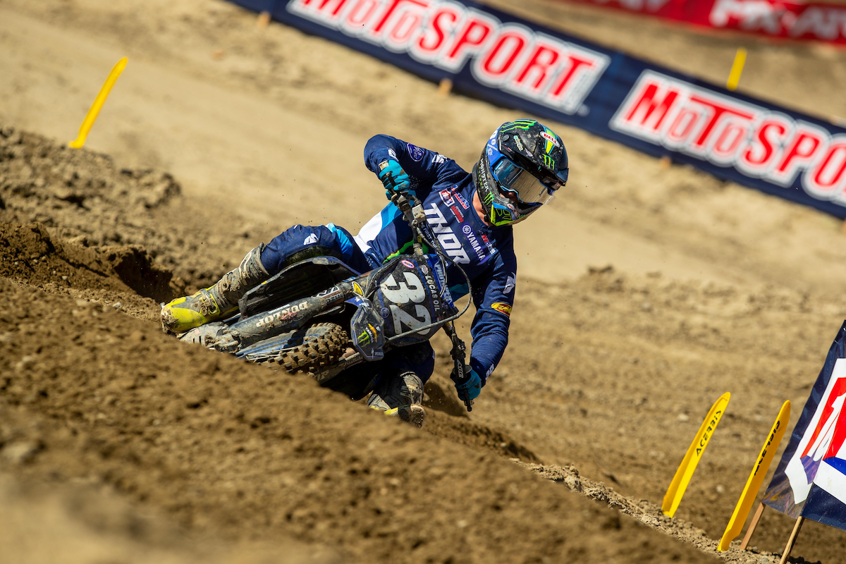 Justin Cooper showed some grit en route to a third-place finish