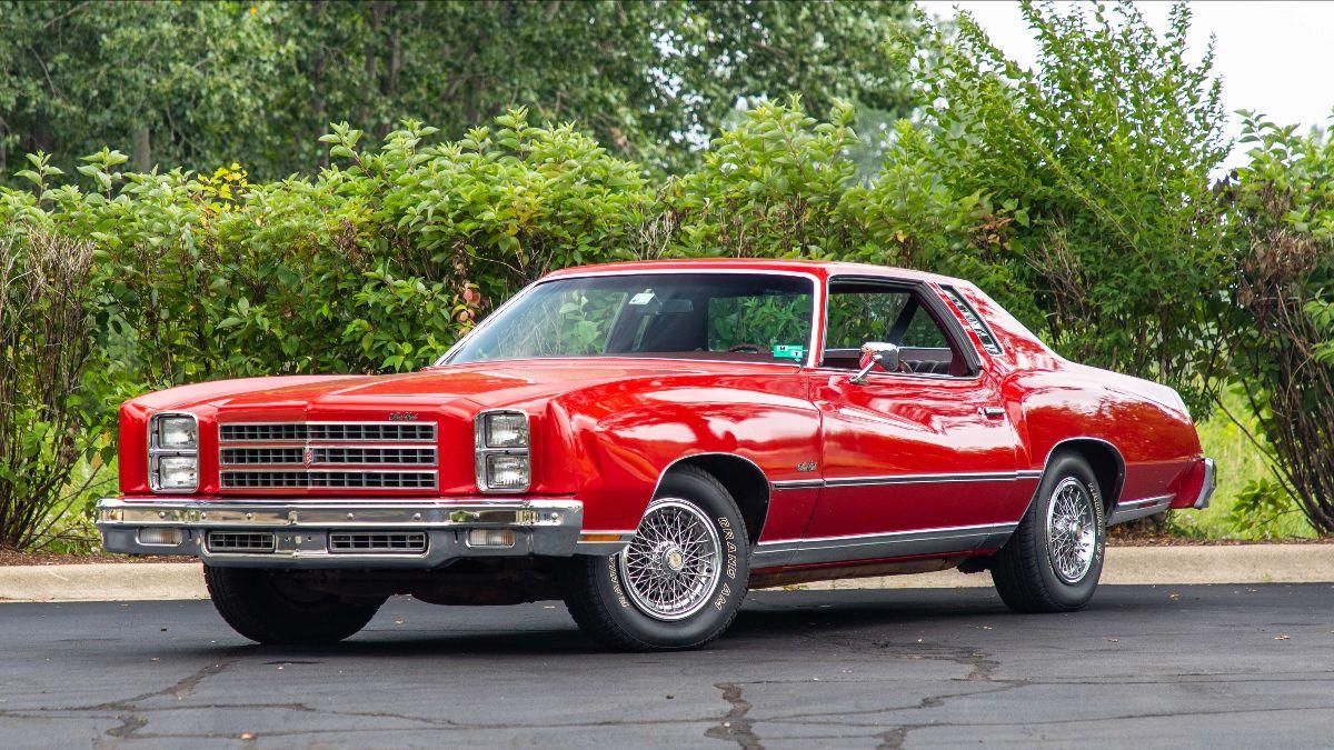 1976 Chevrolet Monte Carlo Unrestored with 12,500 Miles (Lot F76)