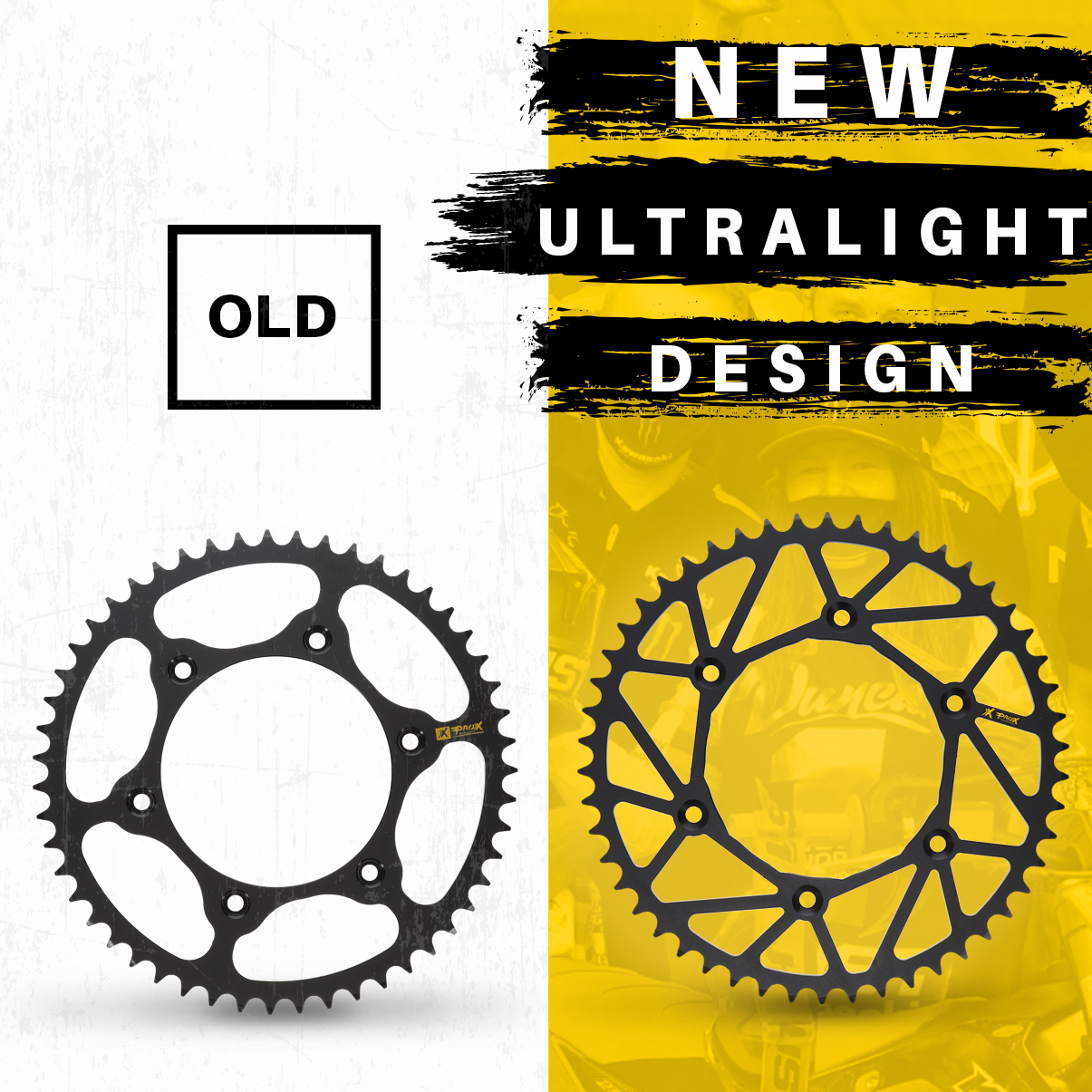211005 ProX Old vs. New Sprockets