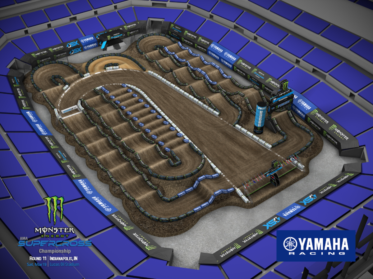 211005 Round 11 Indianapolis Track Map – featuring Monster Energy Supercross
