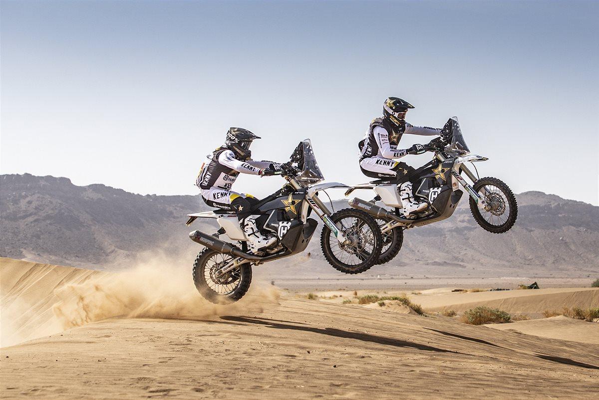 211007 Skyler Howes, Luciano Benavides - Rockstar Energy Husqvarna Racing