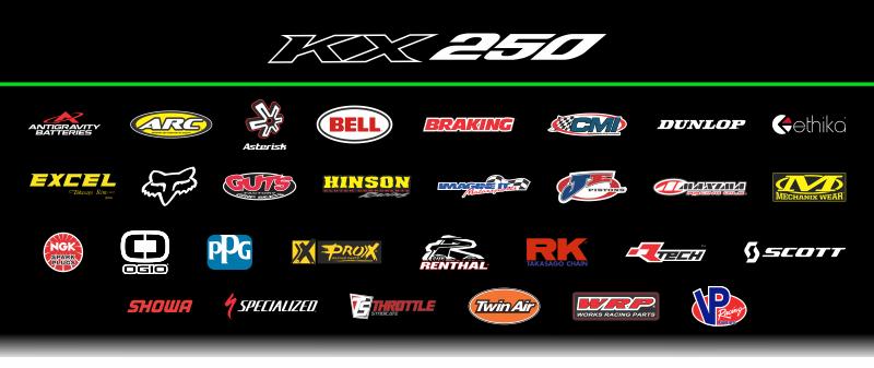 KX250 sponsors