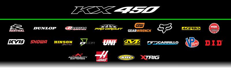Team Green KX450 sponsors