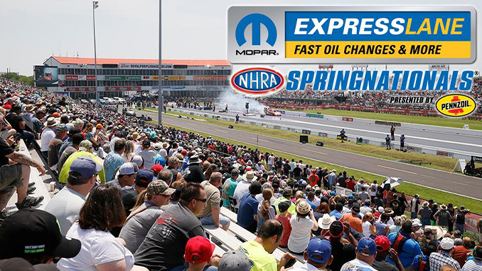 Tickets now on sale for final Mopar Express Lane NHRA SpringNationals (678)